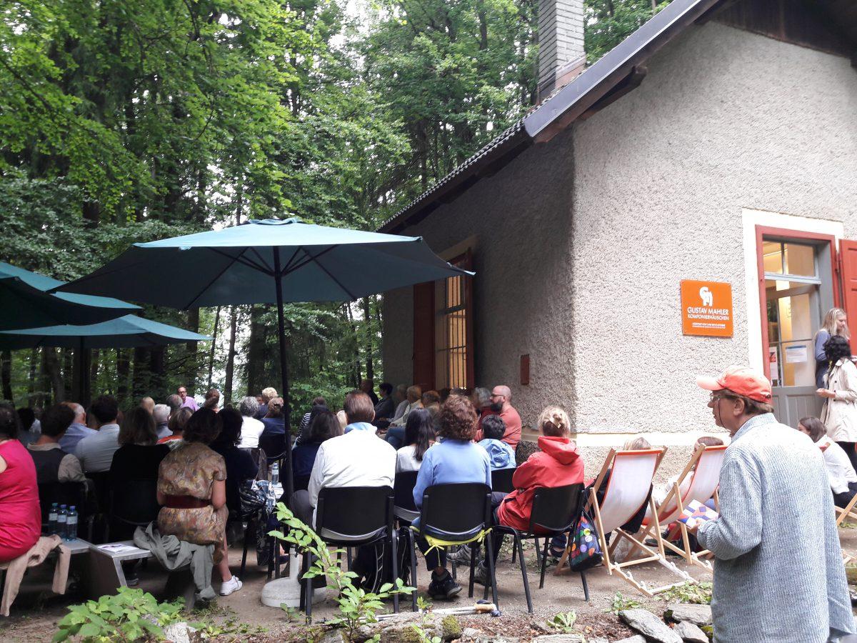 Mahler-Froum am Komponierhäsuchen bei Klagenfurt
